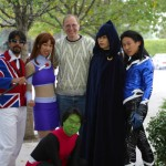With Marv Wolfman, creator of Teen Titans