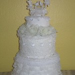 It's a wedding cake!