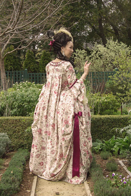 Confused Kitty Creations Robe A La Francaise Jacobean