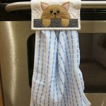 Cat Towel Holder