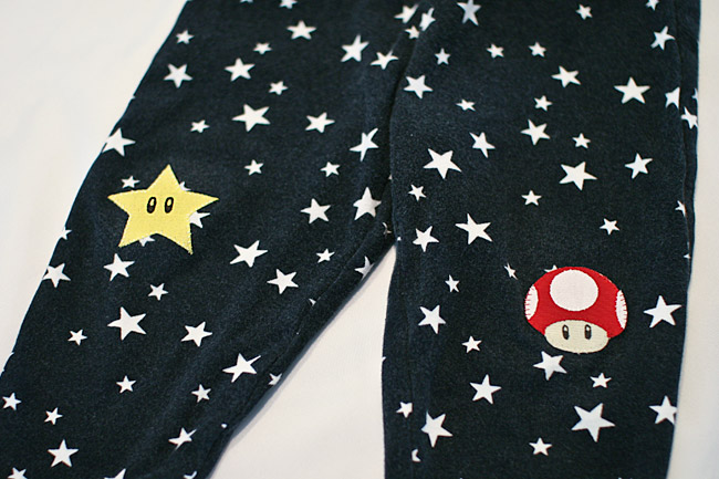 Super Mario Bros Knee Patches