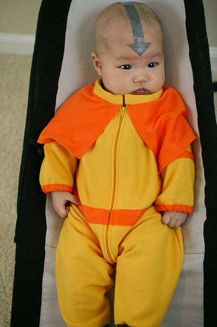 baby airbender from avatar the last airbender