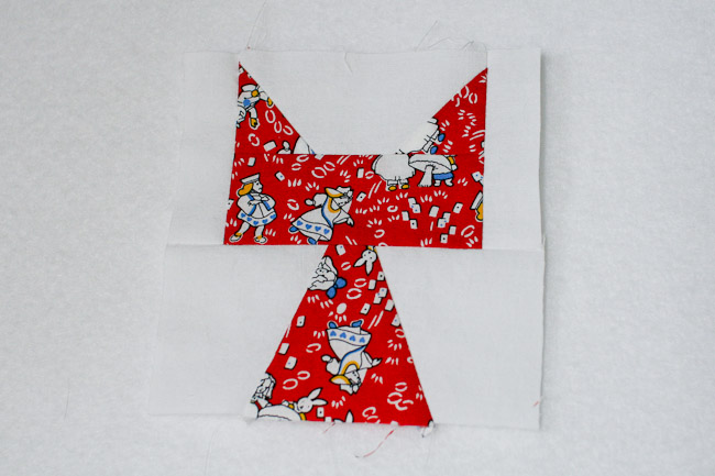patchwork cat block