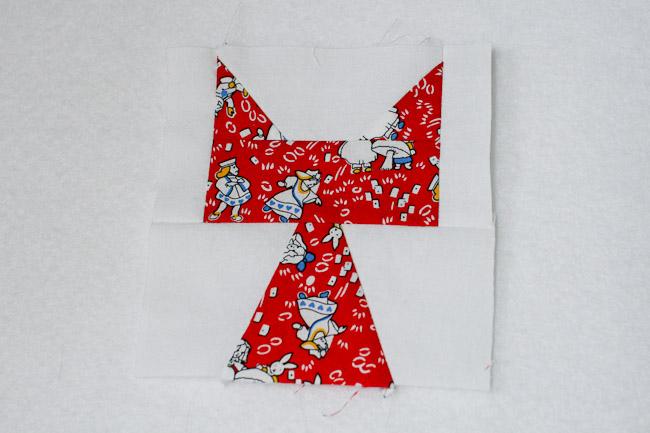 patchwork cat block