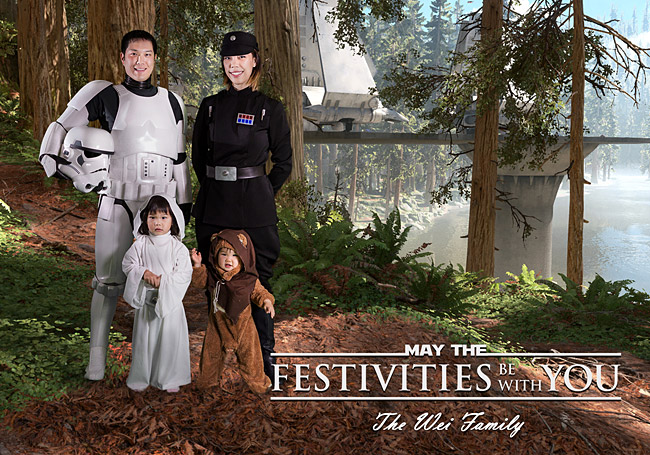 Star Wars Family Photo