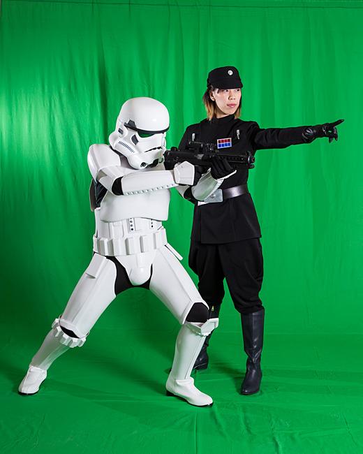 Star Wars Family Photo