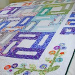 Finished Kate Spain Good Fortune Quilt