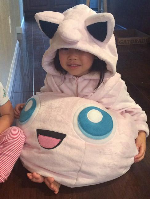 Jigglypuff kid costume