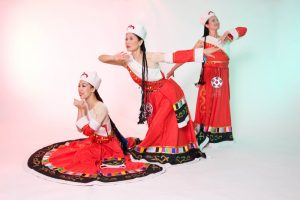 Tibetan Red Dress