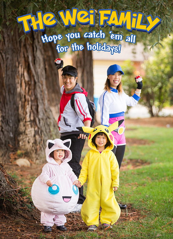 Pokemon Go Holiday Card
