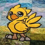 Chocobo and Moogle Baby Quilts